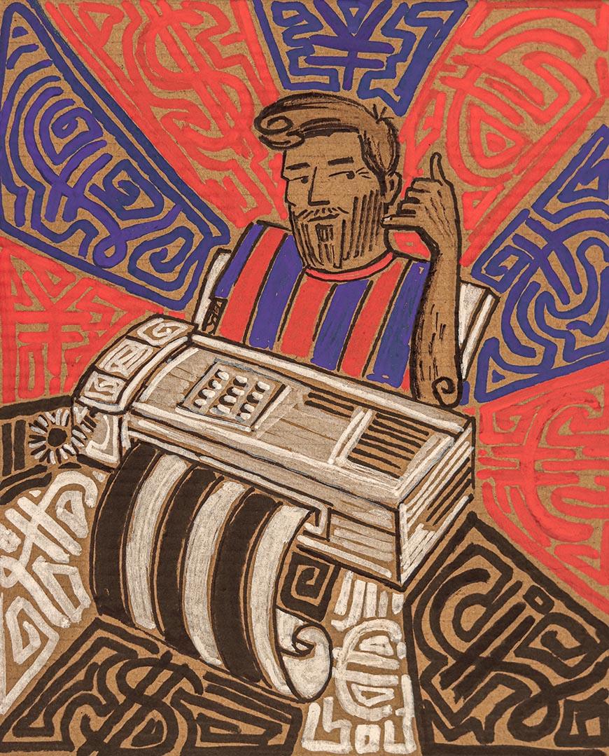 Moillo-NZ-Illustrator-Messi-Fax-2020-WEB
