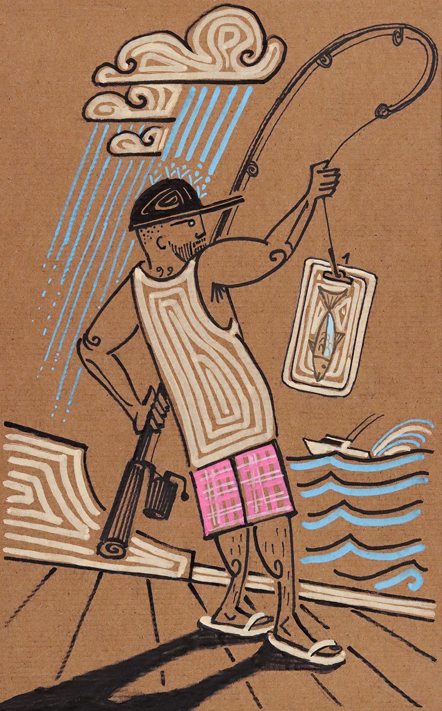 Wrap Fishing