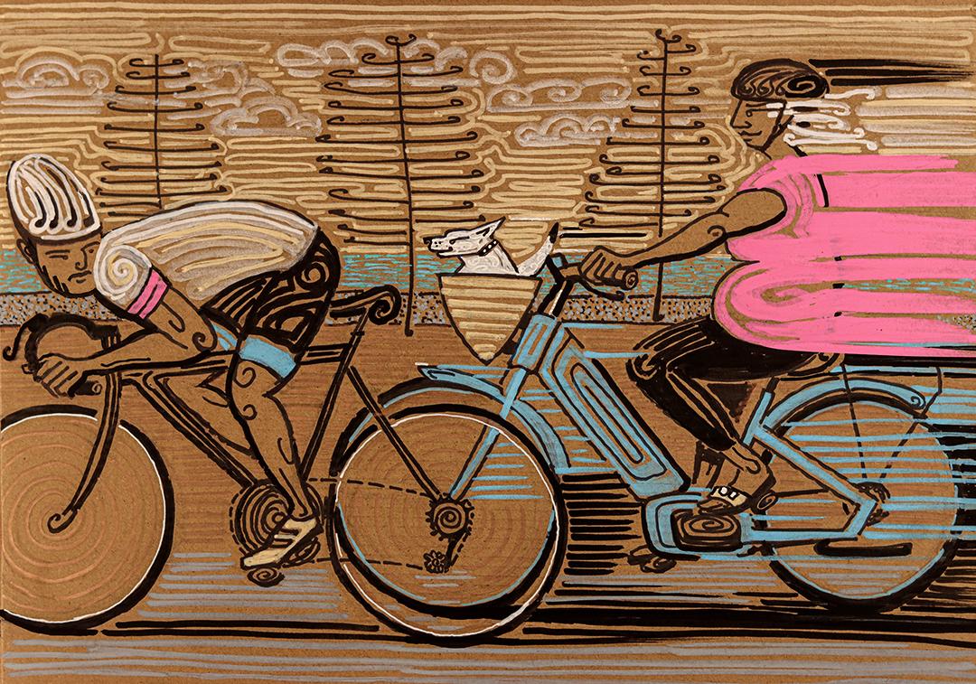 Moillo-NZ-illustrator-Electric-Rider-FEB-2021